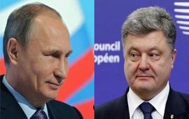 Телефонные переговоры Путина и Порошенко