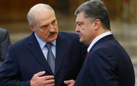 Порошенко и Лукашенко решили замять конфликт