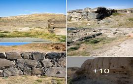 Город-крепость Тейшебаини - Армения