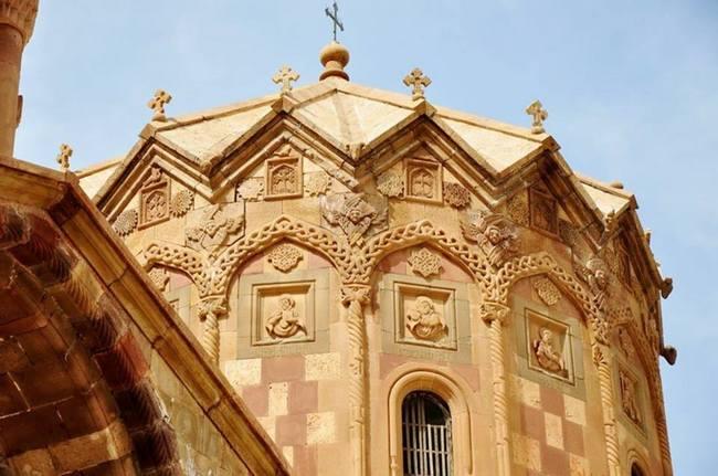 Купол монастыря Сурб Степанос - Джульфа - Иран