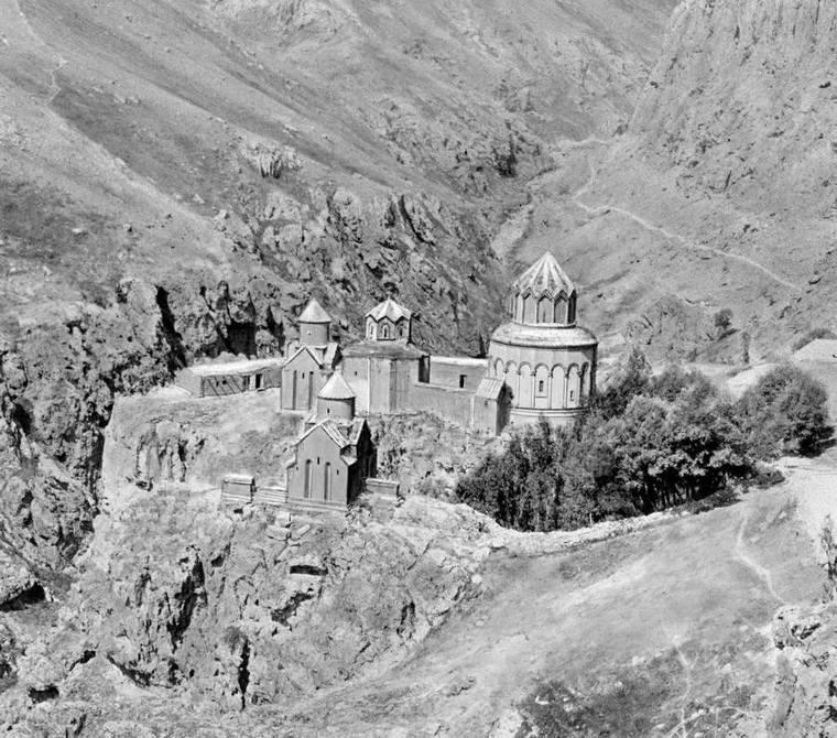 Монастырь Хцконк в 1920 году