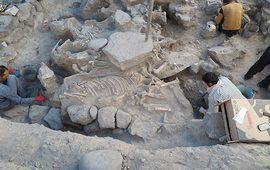 Гробница Тейшебаини в Кармир Блуре