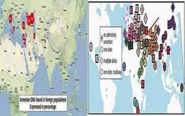 Генетические следы в неармянских народах