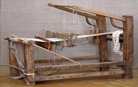 Найдена древняя модель ткацкого станка