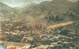 Средневековый армянский город Агулис