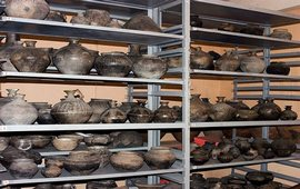 Раскопки на территории исторического Тигрнакерта