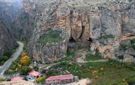Комплекс пещер близ села Арени