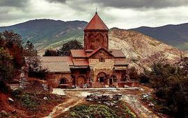 Моанстырь Гндеванк - каньон Арпа - Армения