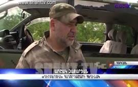 Оператор Shant TV ранен