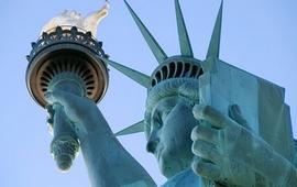 Кому светят лучи статуи Свободы