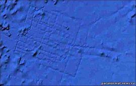 Атлантида видна из космоса