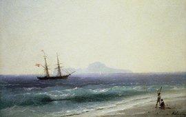 Cила ветра в картинах Айвазовского