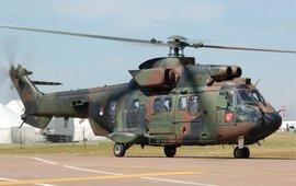 Турецкий вертолет потерпел крушение