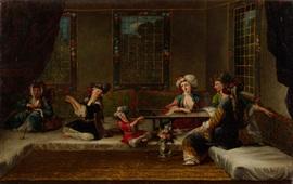 Армянки на полотнах западных художников