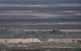 Ответный удар по азербайджанским позициям
