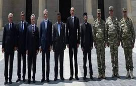 Групповое фото лидеров азербайджанского распила