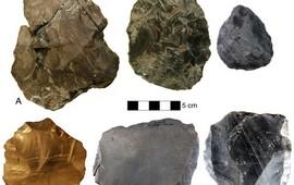 Найденные в Армении орудия гоминид