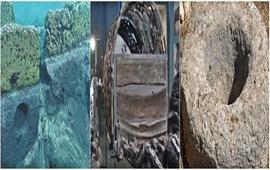 Развалины древнего города на дне озера