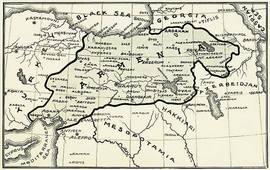 Карты Армянской республики - 1917-1919 гг