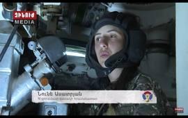 Нуне Асатрян - командир противотанкового подразделеня