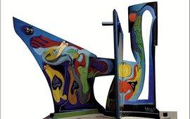 """3D-работы Кочара - """"Пикассо боялся времени"""