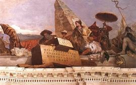 Армянский алфавит на баварской фреске