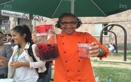 Одзун - На фестивале фруктов