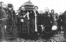 Армяне хоронили льва Толстого