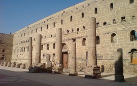 Египет - Армянский Белый монастырь - Дейр-эль-Абиад
