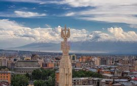 Столица Армении - Ереван - Творение древнейших вулканов