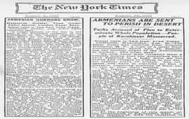 The New York Times - 1915 - Статьи о Геноциде армян