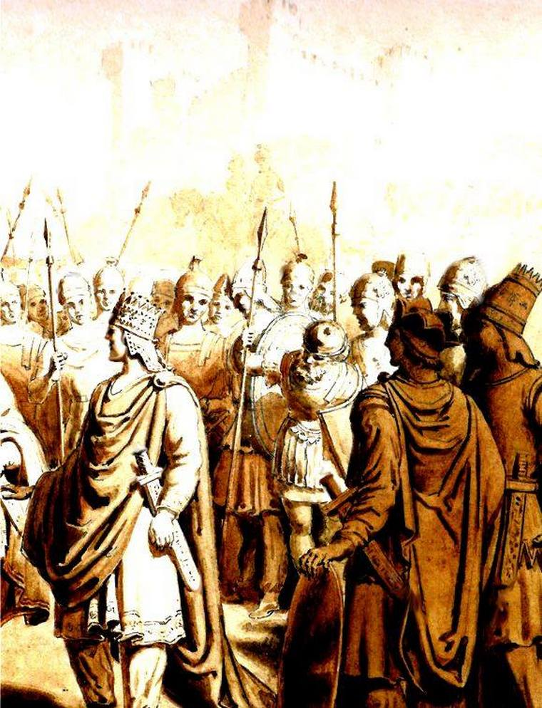 Деятельность Арташеса I как полководца