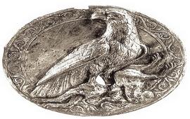Обнаружен Серебряный медальон