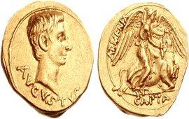 Армянская символика на монетах Древнего Рима