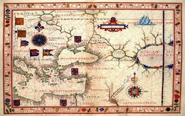Древние морские карты Черноморского региона
