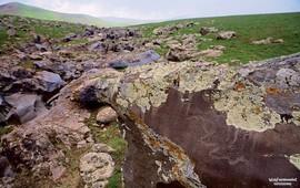 Истоки Вардавара высоко в горах