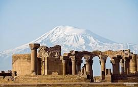 Армения - Звартноц - Храм Бдящих сил