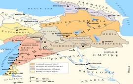 Клавдий Птолемей о расположении Великой Армении