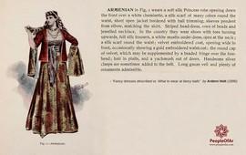Чудесное платье армянской леди