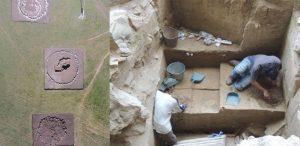 Впервые в истории найдены ритуальные здания находящиеся недалеко от древних захоронений. Находка датируется третьим тысячелетием до нашей эры.