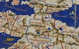 Карта мира Клавдия Птолемея - II век н.э.