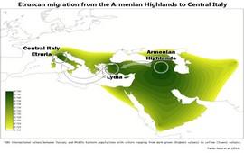 Исследование ДНК показало в происхождении этрусков миграцию