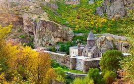 Монастырь Гегард - Армения+Эскизы проекта