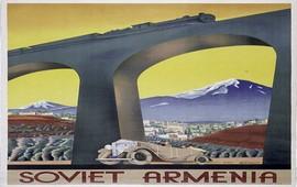 Туристический плакат Советской Армении