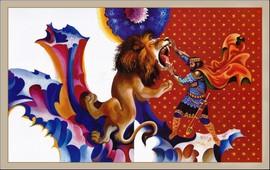 Сасна Црер - Уникальные иллюстрации армянского эпоса