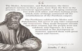 Страбон о непокоренной Армении