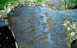 Древние наскальные рисунки Армении