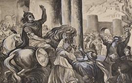 Иллюстрации армянских воинов