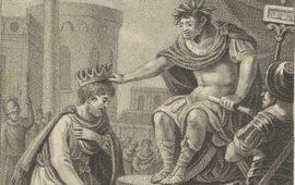 Император Нерон коронует Трдата I - Царя Армении