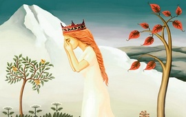 Легенда озера Анаит на вершине Арарата